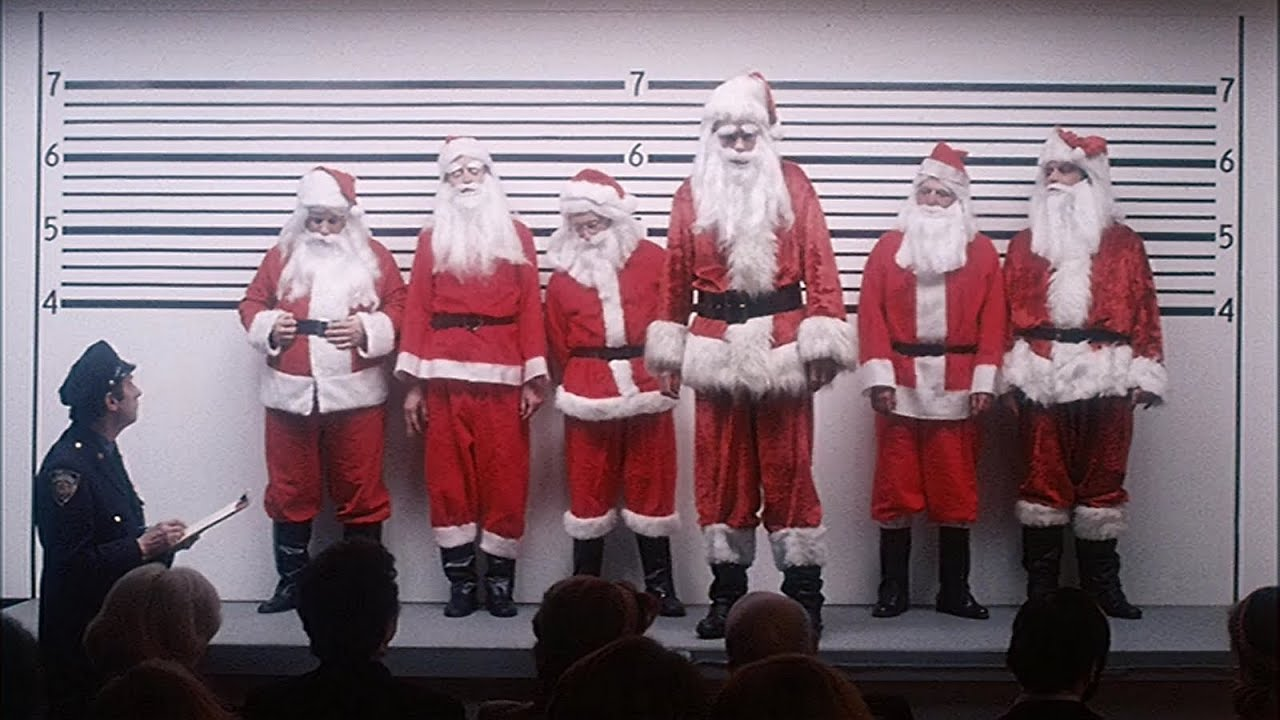 Not quite the Santa Parade we had in mind - from Christmas Evil (1980)