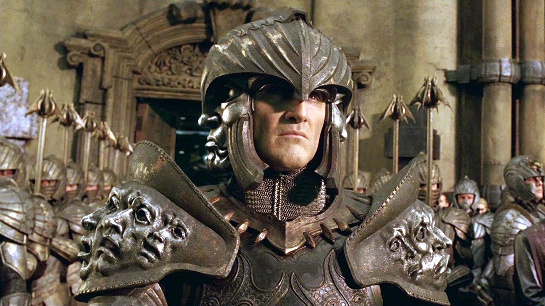 Colm Feore as Lord Marshal, leader of the Necromongers in The Chronicles of Riddick (2004)