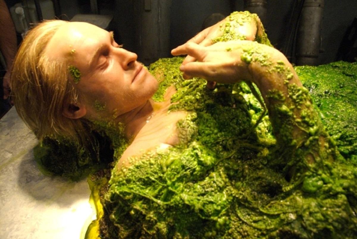 Smith (Glen Vaughan) transforms into a Chrysalis (2008)
