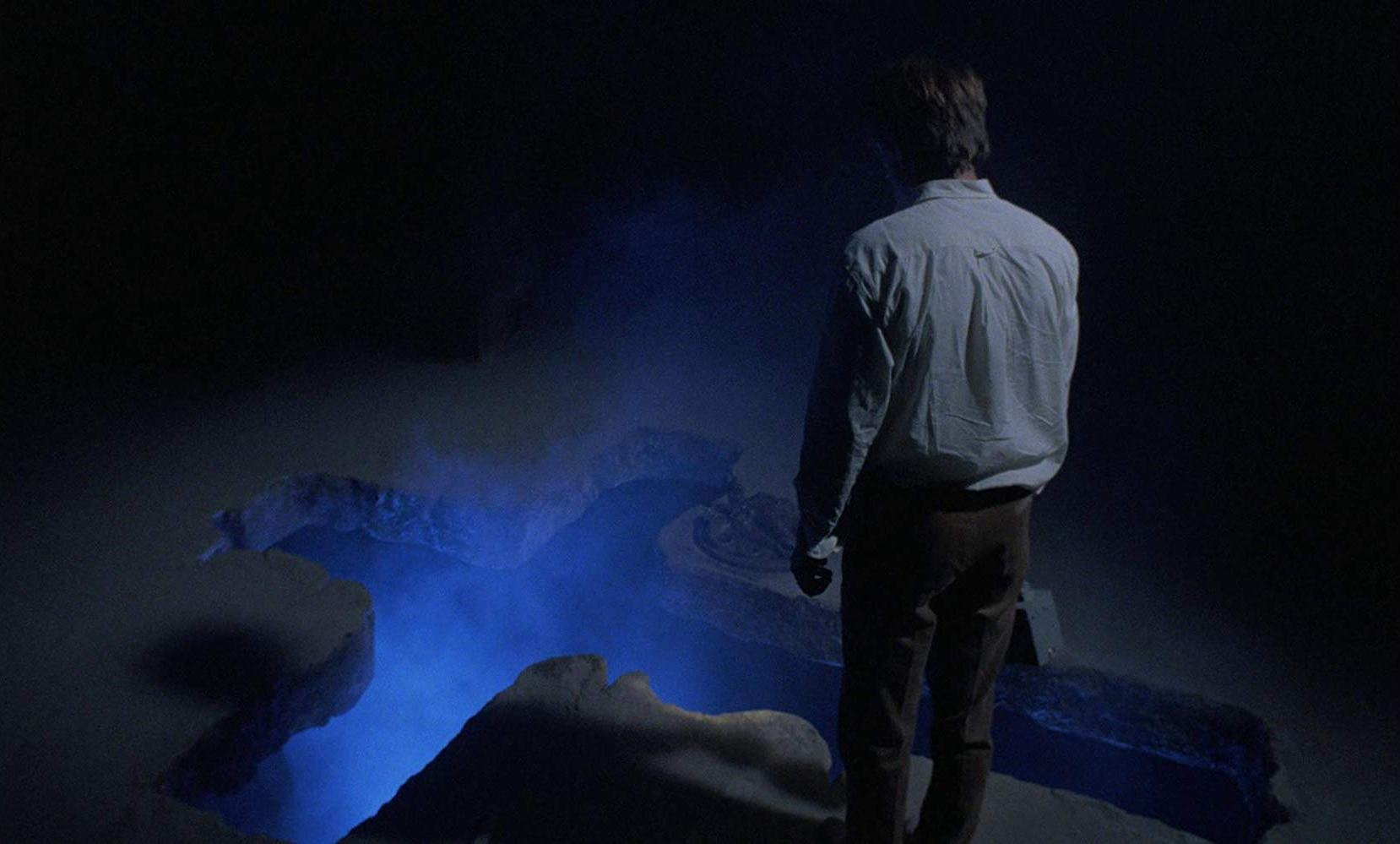 Tomas Arana finds the tomb in The Church (1989)