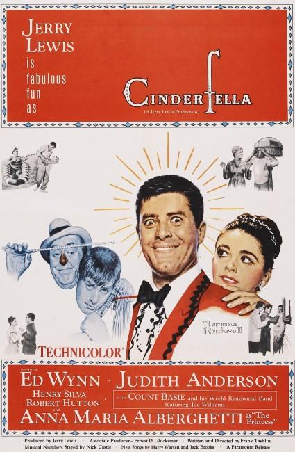 Cinderfella (1960) poster
