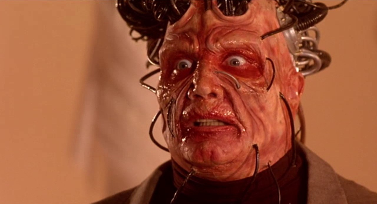 Vernon Wells as Plughead in Circuitry Man (1990)