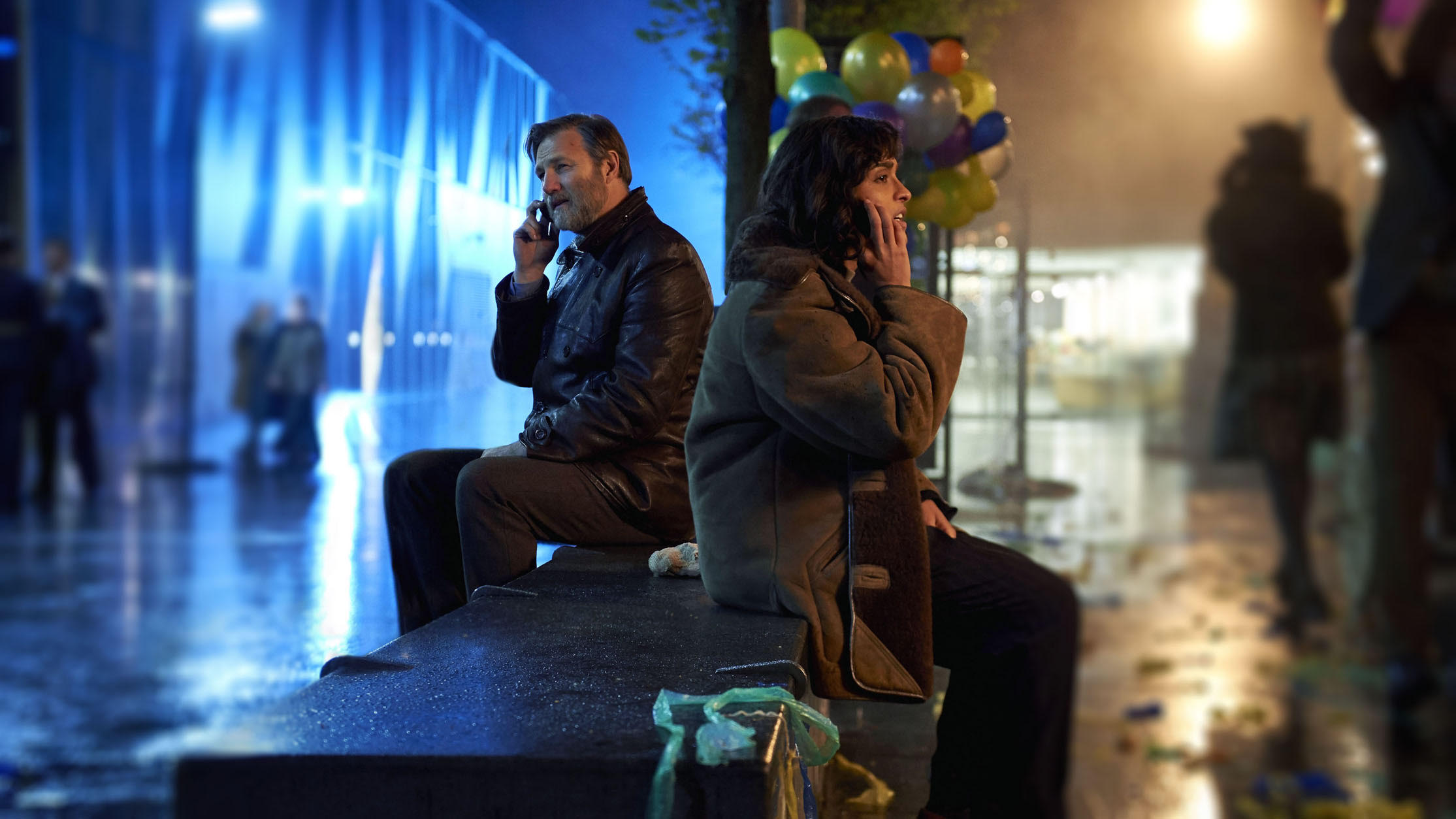 David Morrissey, Mandeep Dhillon in The City and the City (2018)