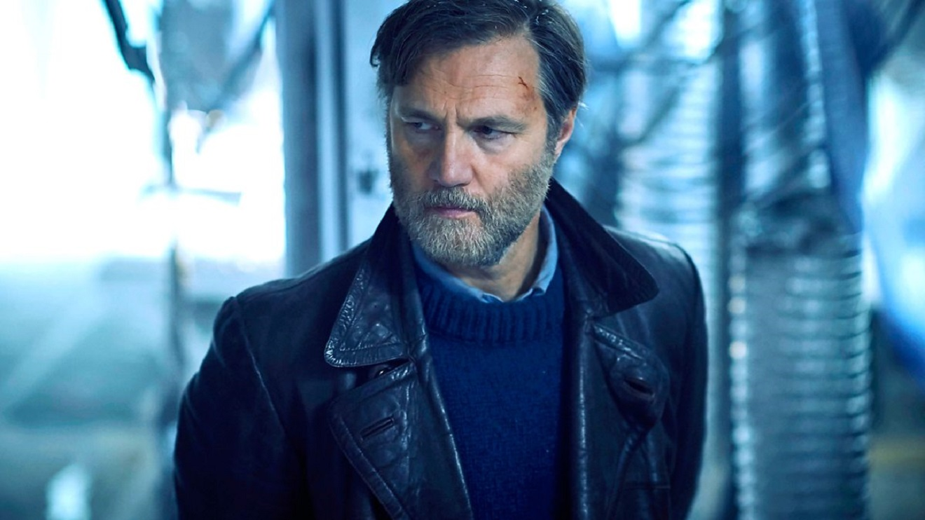 David Morrissey as Inspector Tyador Borlu in The City and the City (2018)