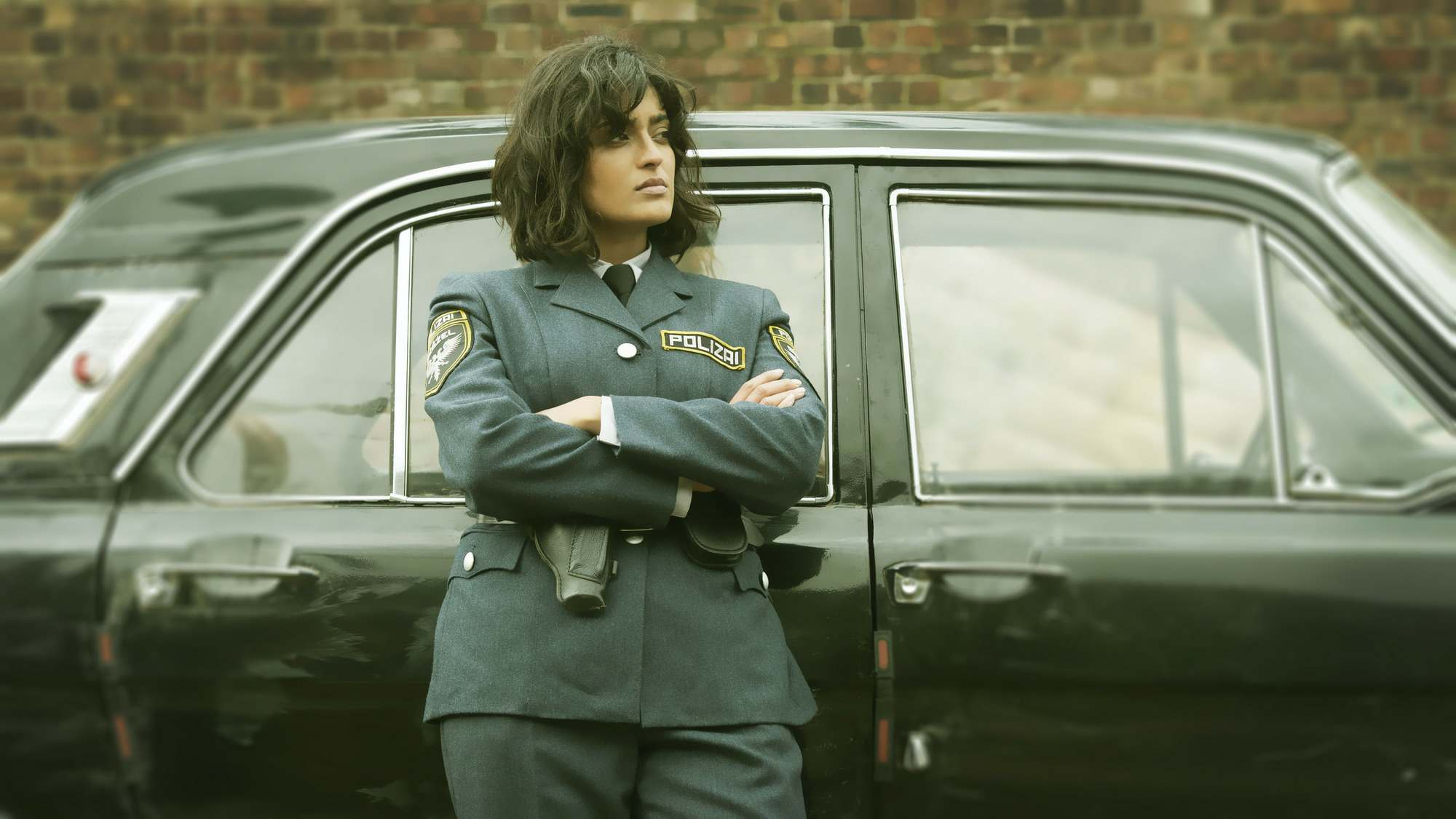 Mandeep Dhillon as Constable Corwi in The City and the City (2018)