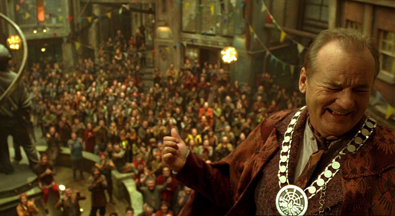Bill Murray as Mayor Cole in City of Ember (2008)