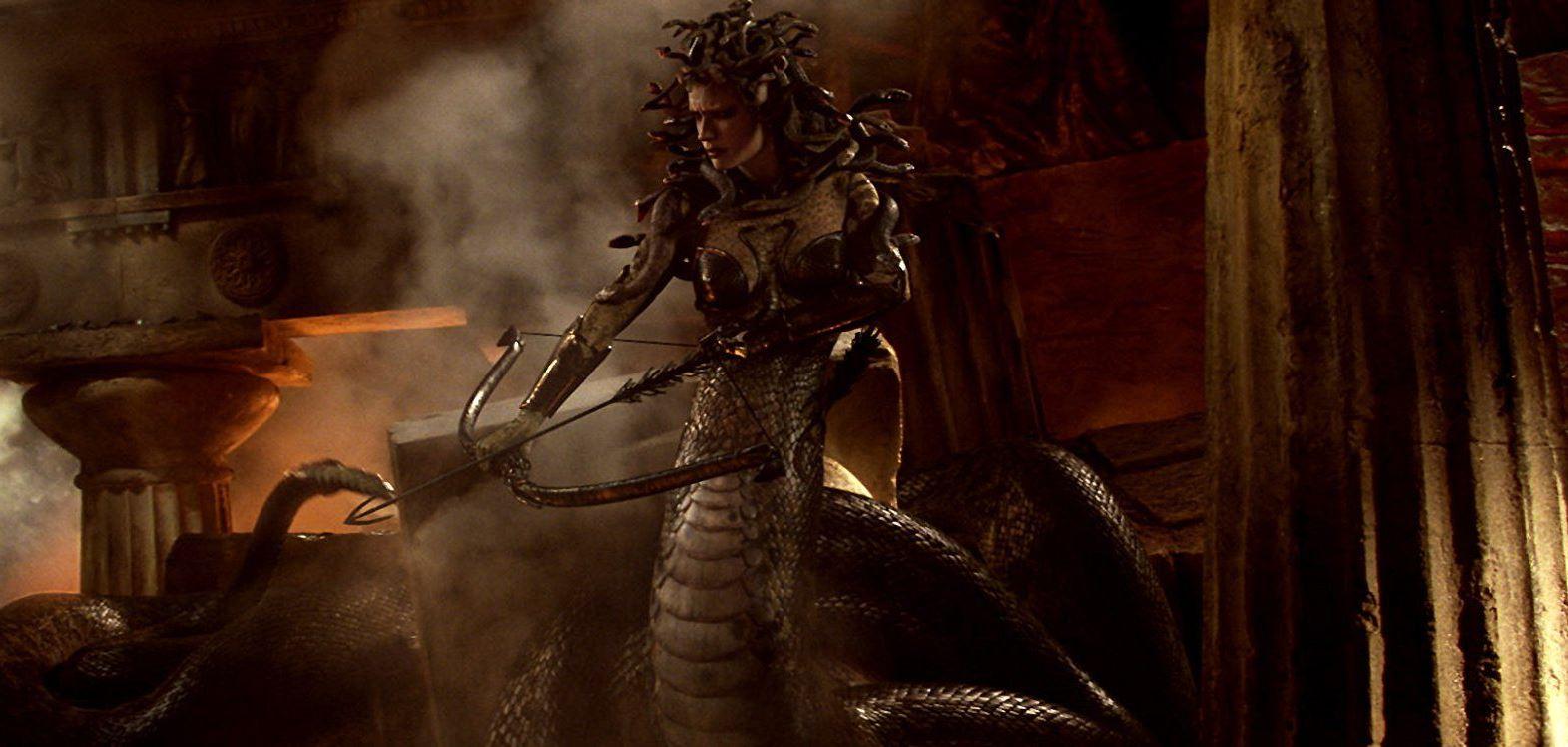 A CGI Medusa in Clash of the Titans (2010)