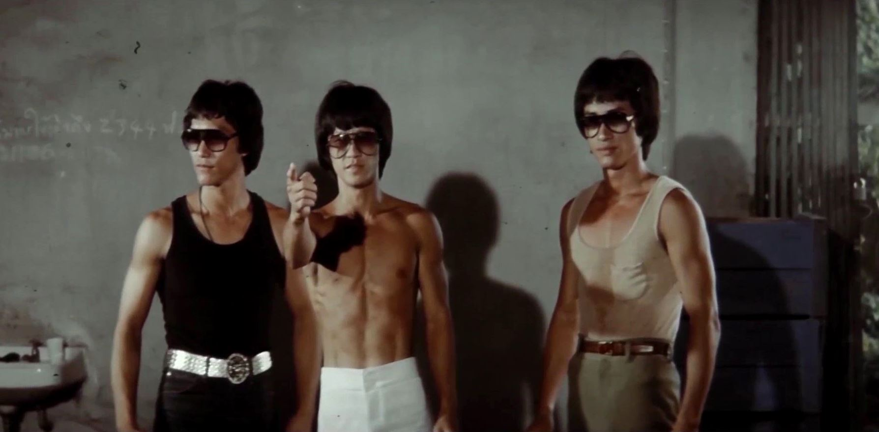 Bruce Le, Bruce Lai and Dragon Lee as The Clones of Bruce Lee (1980)