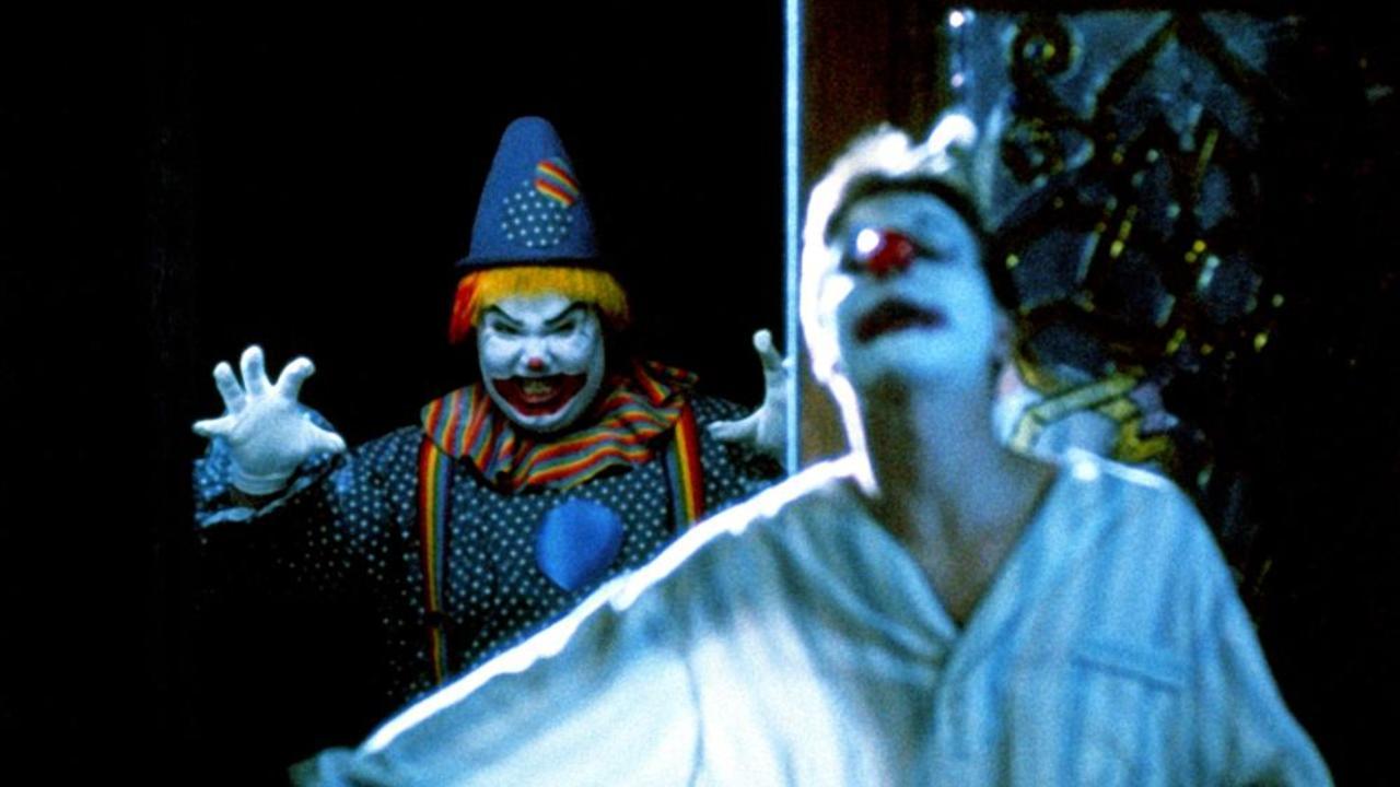 Killer clowns in Clownhouse (1989)
