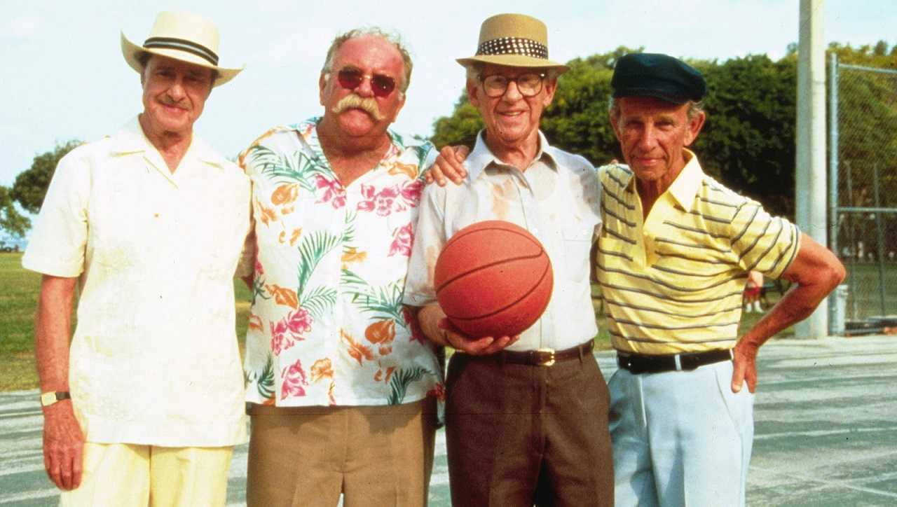 Don Ameche, Wilford Brimley, Jack Gilford and Hume Cronyn in Cocoon: The Return (1988)