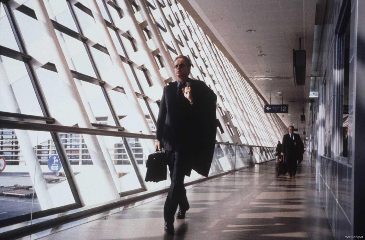 William Geld (Tim Robbins) in Code 46 (2003)