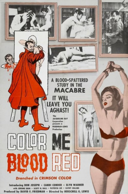 Color Me Blood Red (1965) poster