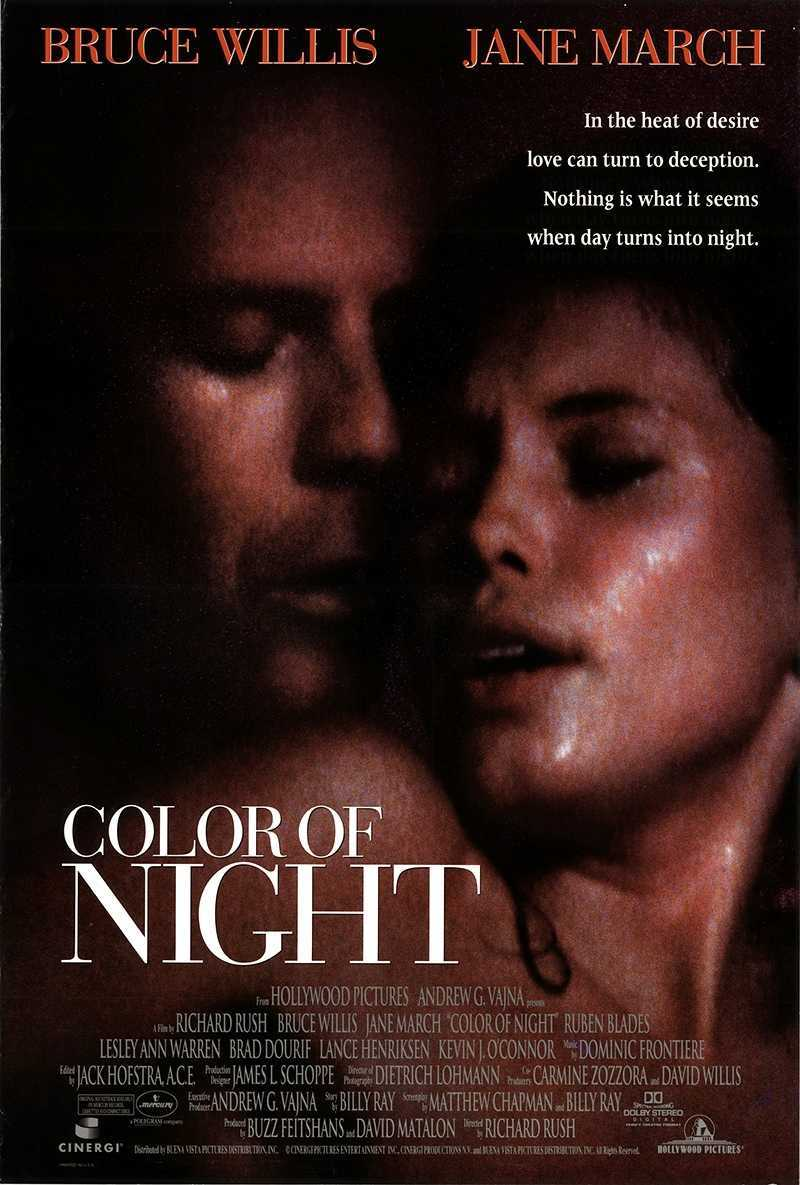 Color of Night (1994) poster