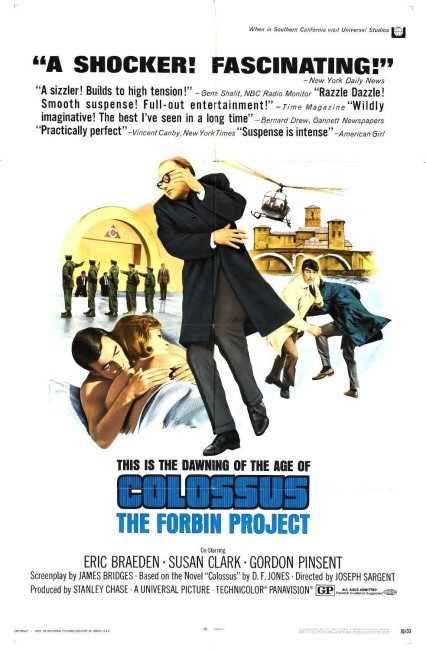 Colossus: The Forbin Project (1969) poster