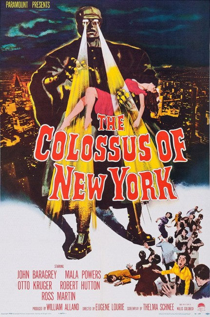 The Colossus of New York (1958) poster