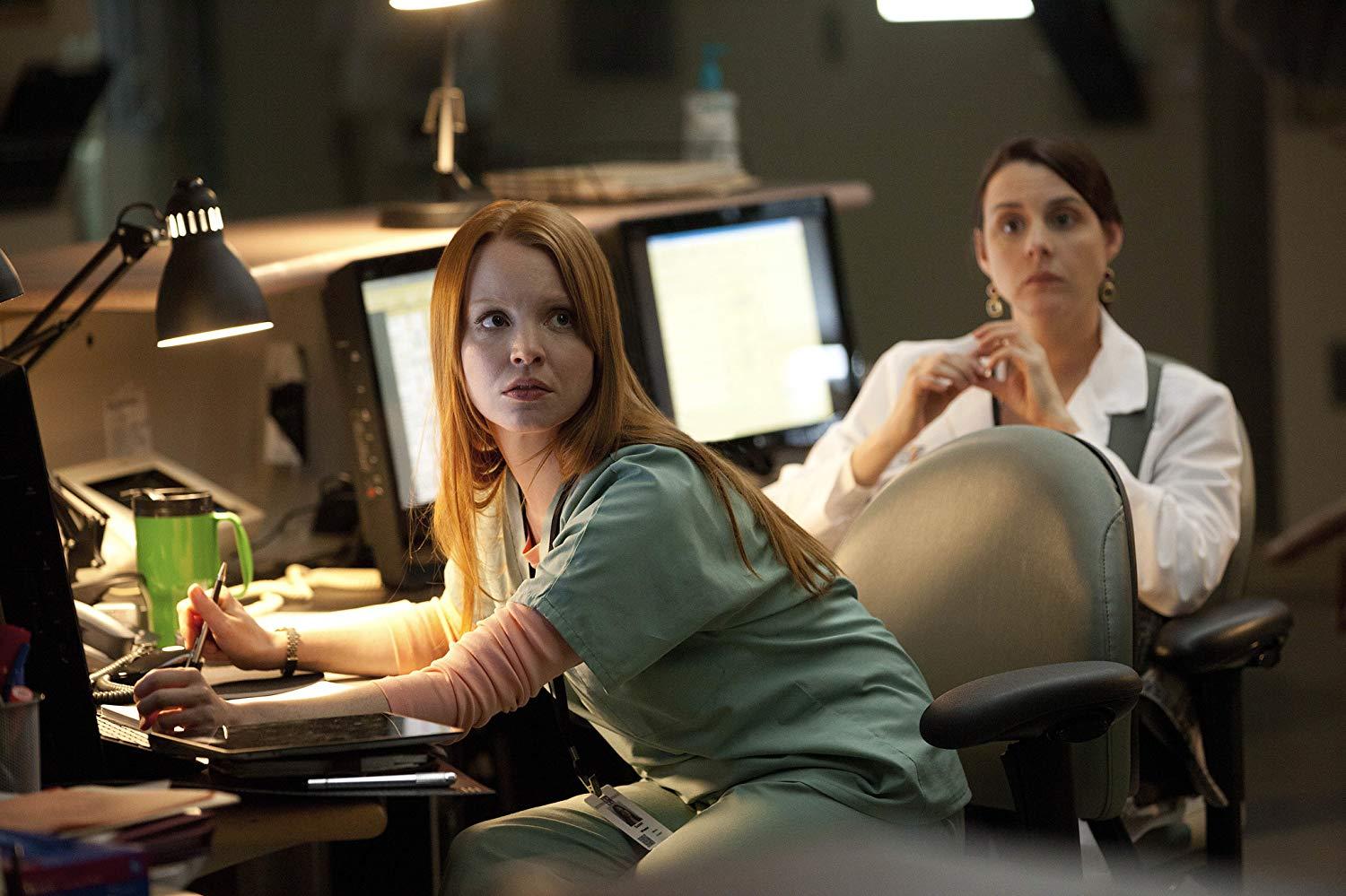 Lauren Ambrose as Susan Wheeler in Coma (2012)