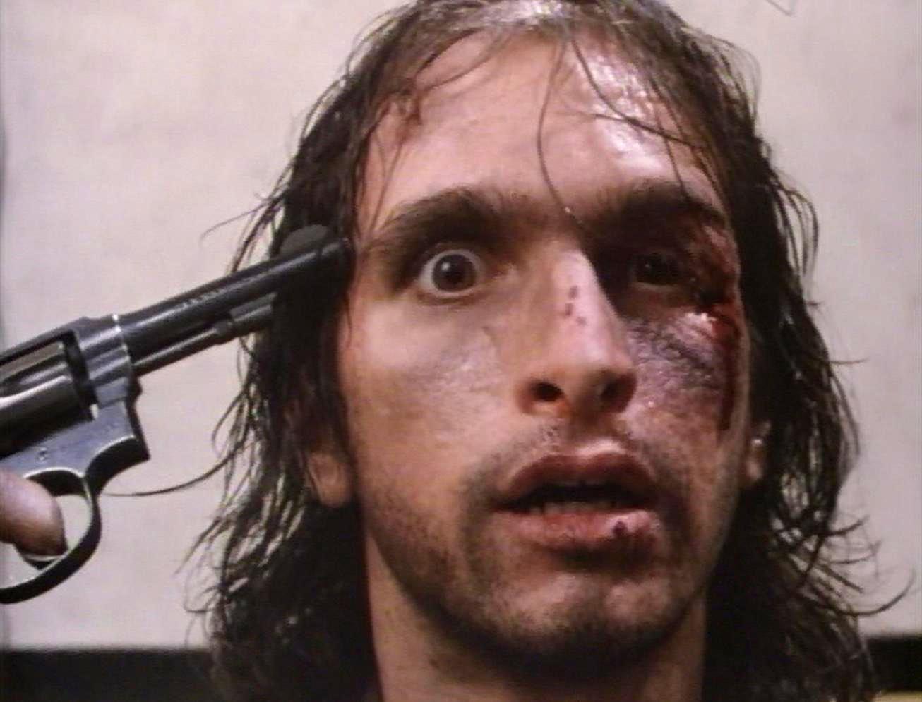Ricky Giovinazzo as Vietnam Veteran Frankie Dunlan in Combat Shock (1986)