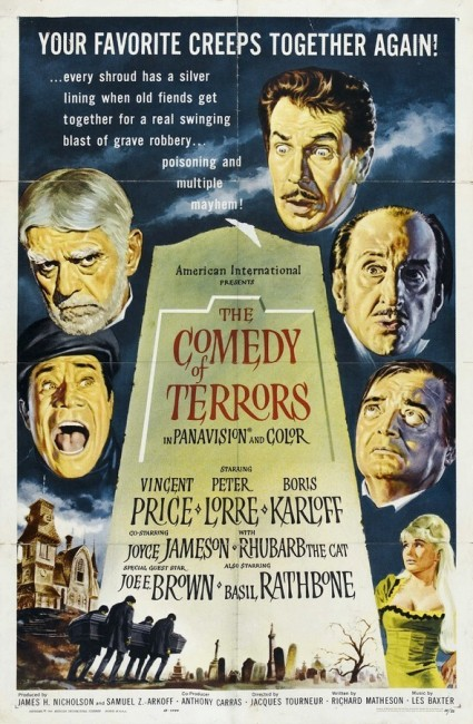 The Comedy of Terrors (1963) poster