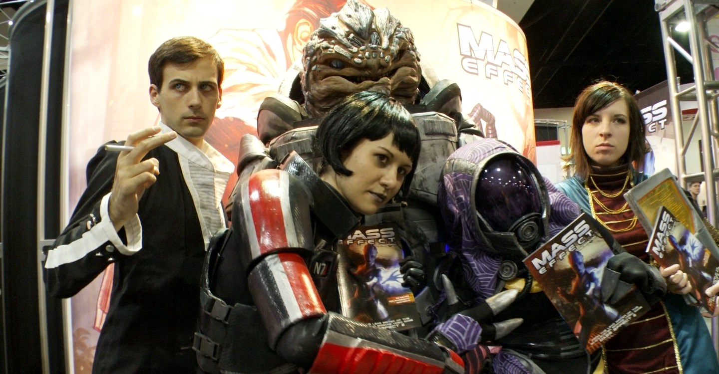 Holly Conrad and her Mass Effect cosplayers in Comic-Con Episode IV: A Fan's Hope (2011)