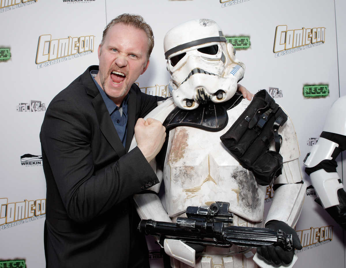 Morgan Spurlock and Stormtrooper in Comic-Con Episode IV: A Fan's Hope (2011)