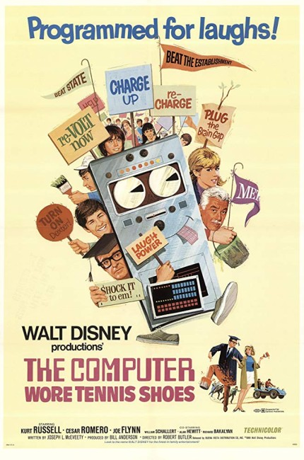 The Computer Wore Tennis Shoes (1969) poster 2