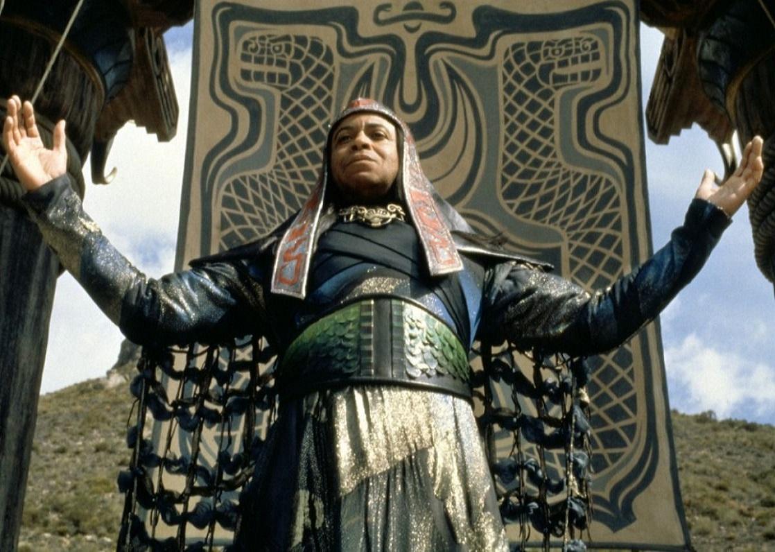 James Earl Jones as Thulsa Doom in Conan the Barbarian (1982)