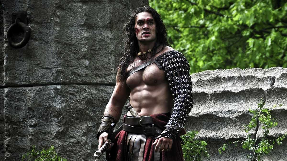 Jason Momoa as Conan the Barbarian (2011)