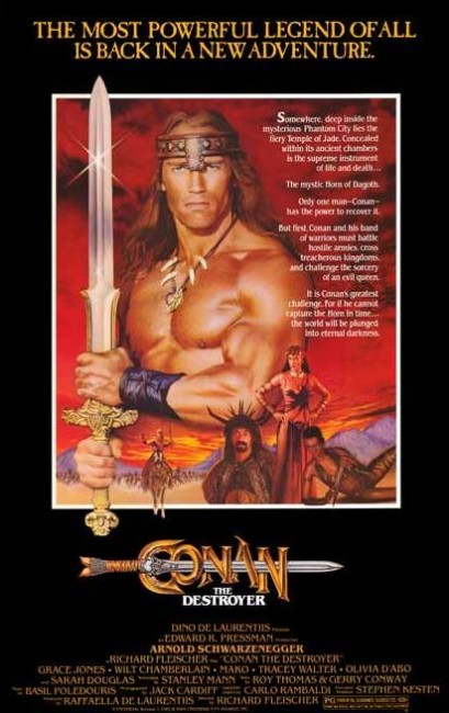 Conan the Destroyer (1984) poster