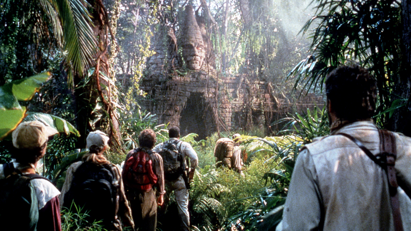 Arrival at the lost city of Xinj in Congo (1995)