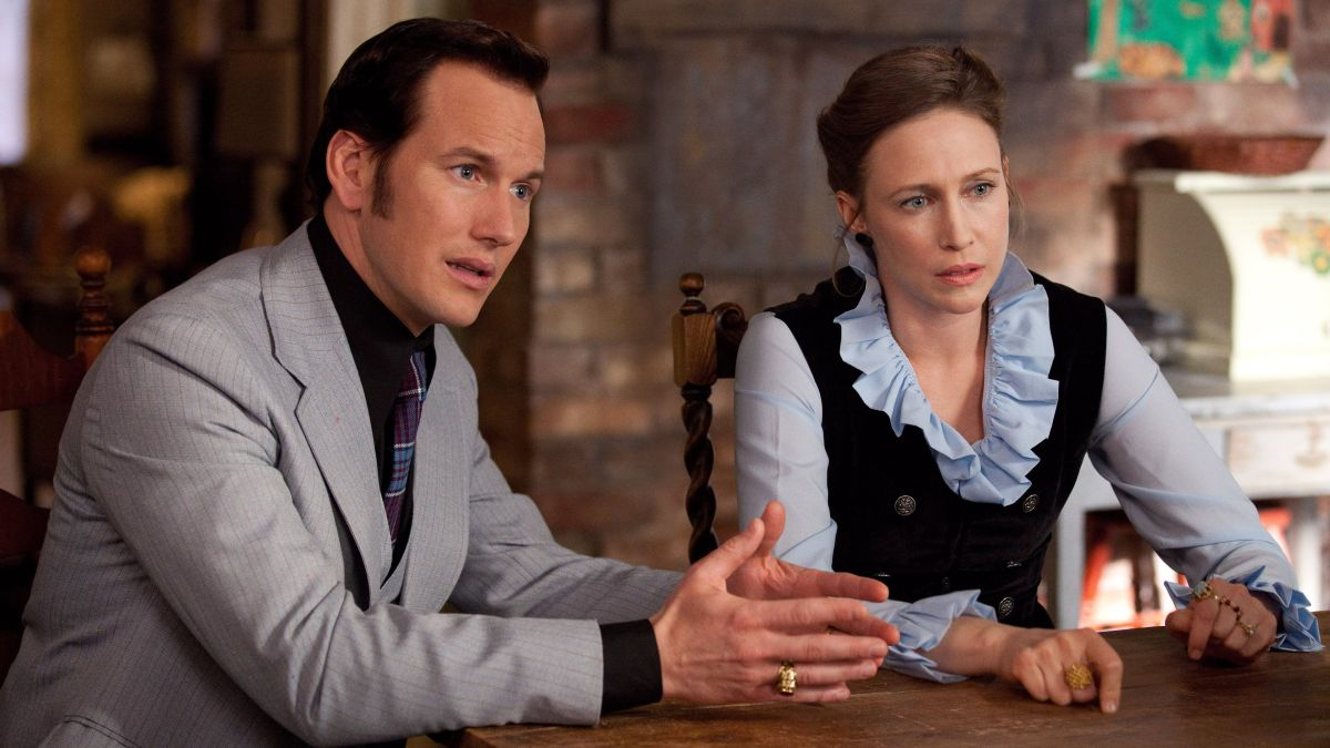 Ed and Lorraine Warren (Patrick Wilson and Vera Farmiga) in The Conjuring (2013)