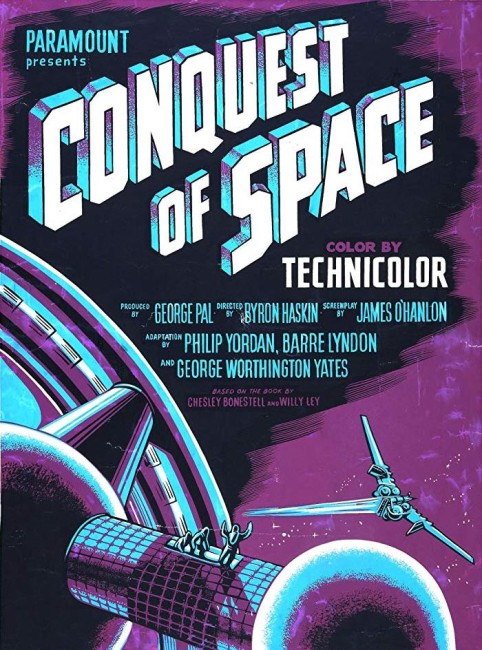 Conquest of Space (1955) poster