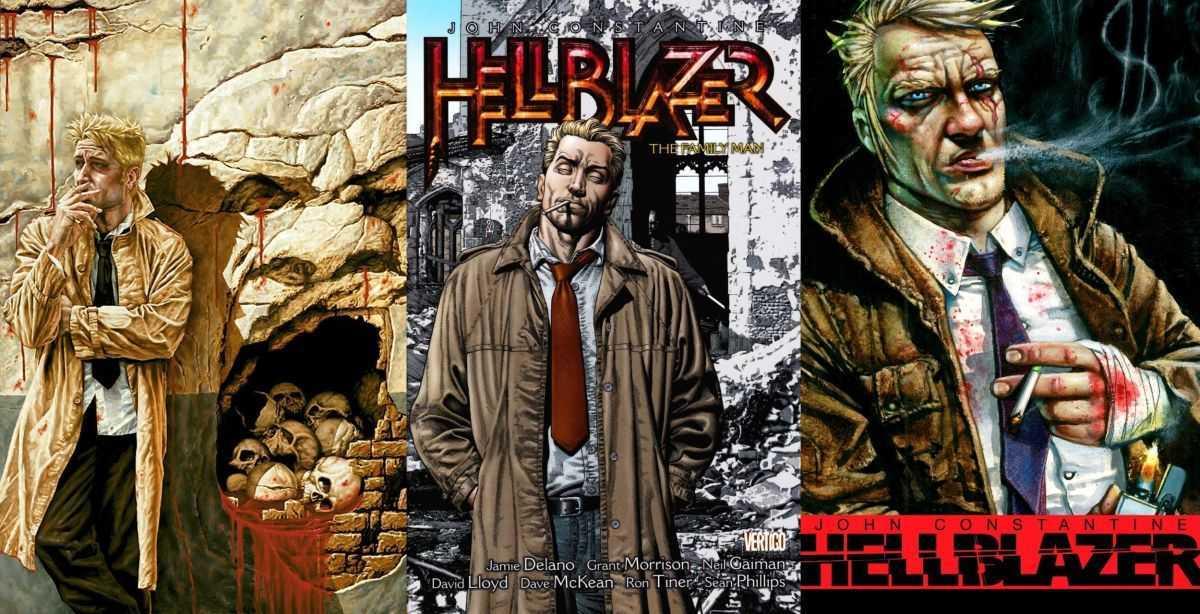 Triptych - the John Constantine of DC Comics's Hellblazer