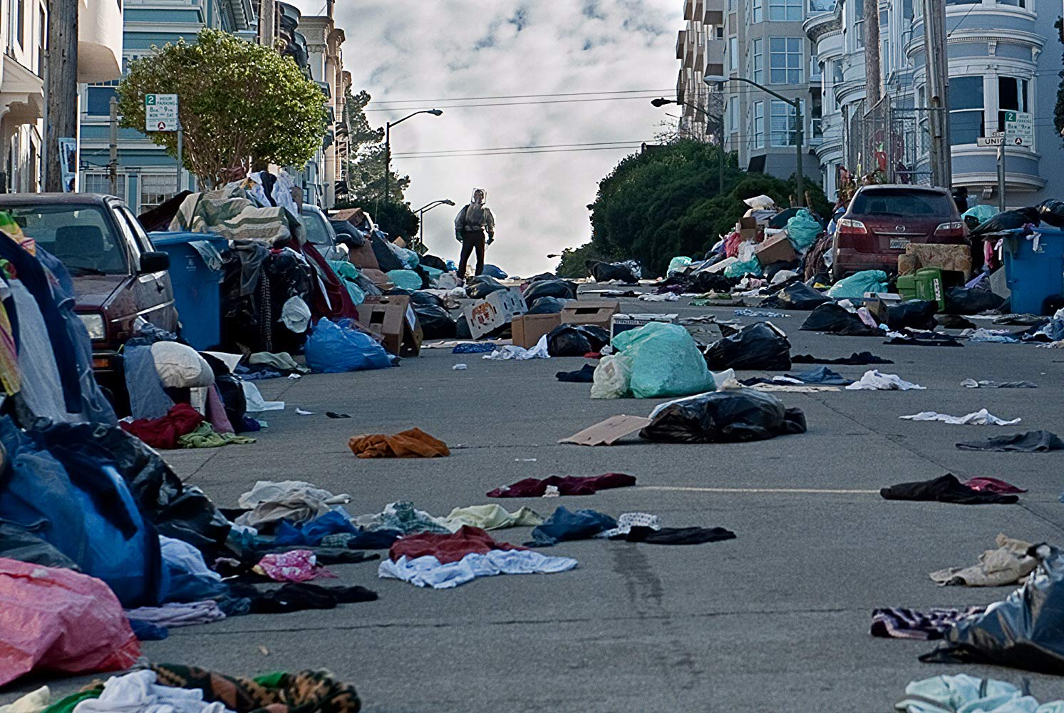 A plague devastated San Francisco in Contagion (2011)