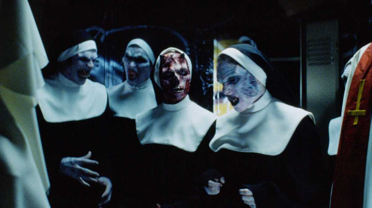 Zombie nuns in The Convent (2000)