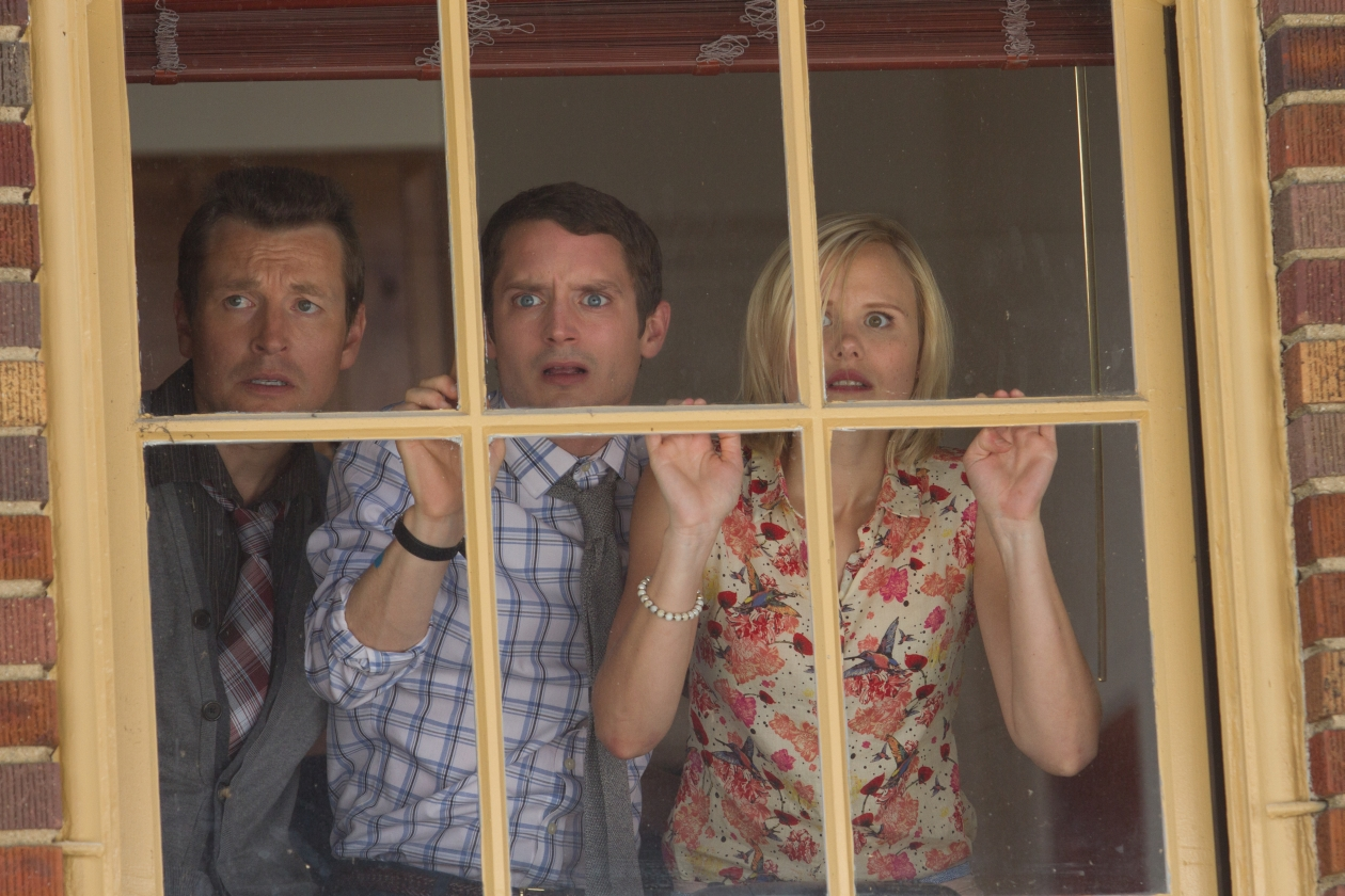 Leigh Whannell, Elijah Wood, Alison Pill in Cooties (2014)