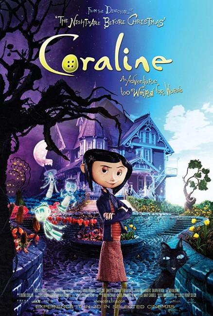 Coraline (2009) poster