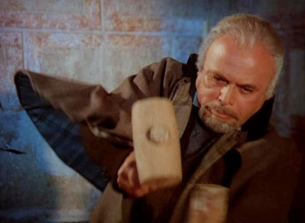 Herbert Lom as Dr Van Helsing in Count Dracula (1970)