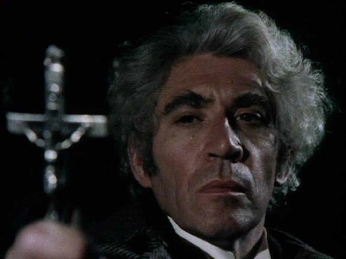Frank Finlay as Professor Van Helsing in Count Dracula (1977)
