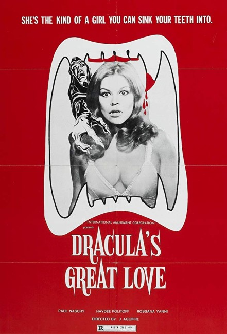Count Dracula's Great Love (1972) poster