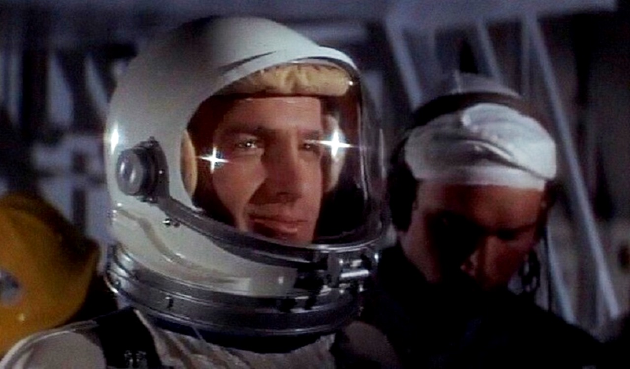 James Caan as astronaut Lee Stegler, the first man on The Moon in Countdown (1967)