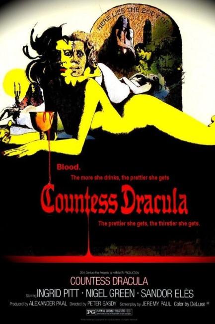 Countess Dracula (1971) poster