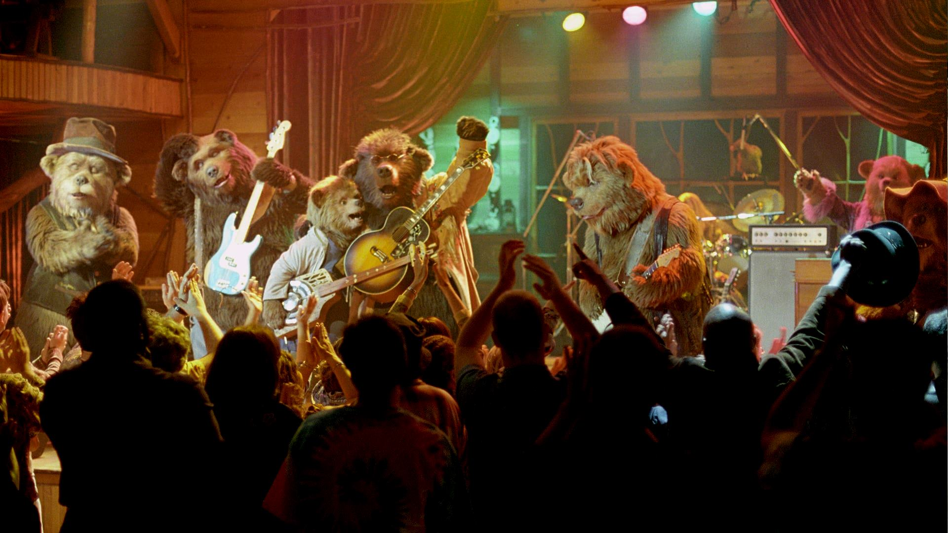 The band reunited on stage in The Country Bears (2002)