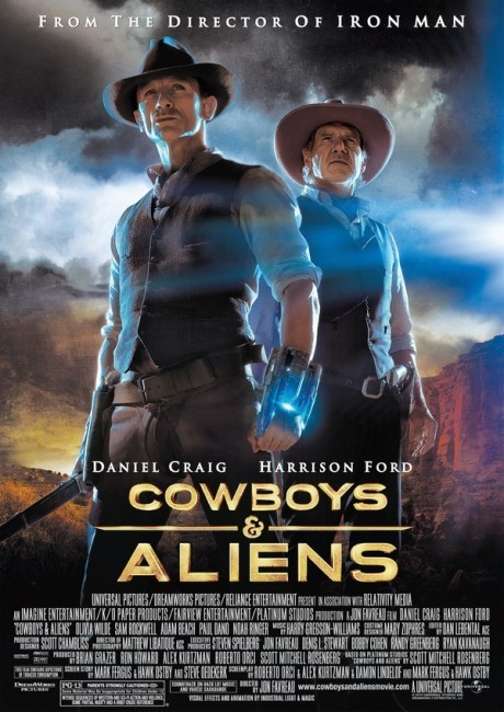Cowboys & Aliens (2011) poster