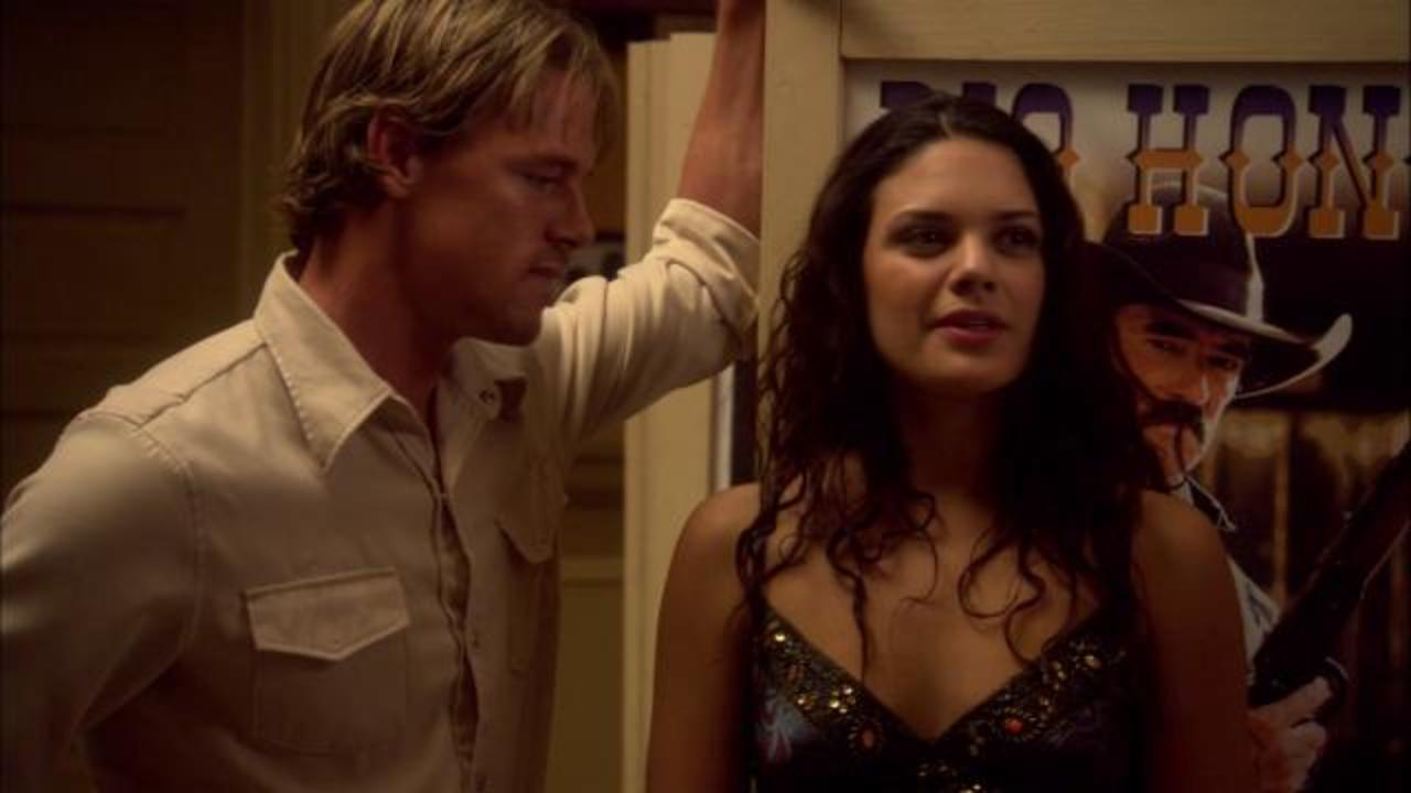 Jasen Wade and Angelica Celaya in Cowboys vs Vampires/Dead Wrst (2010)