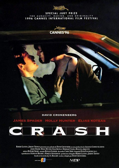 Crash (1996) poster
