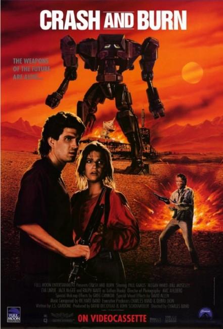 Crash and Burn (1990) poster