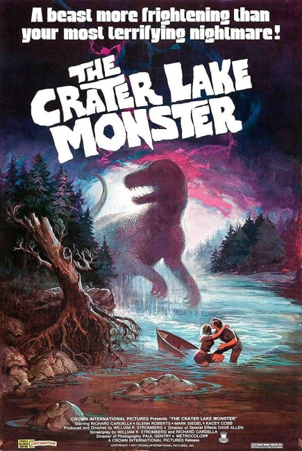 The Crater Lake Monster (1977) poster