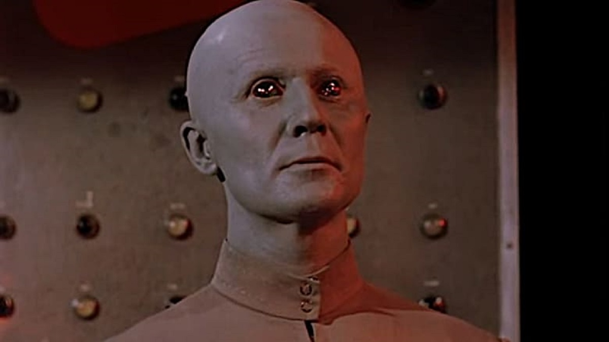 One of the Clickers from The Creation of the Humanoids (1962)