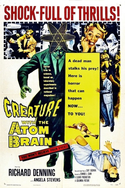 Creature with the Atom Brain (1955) poster