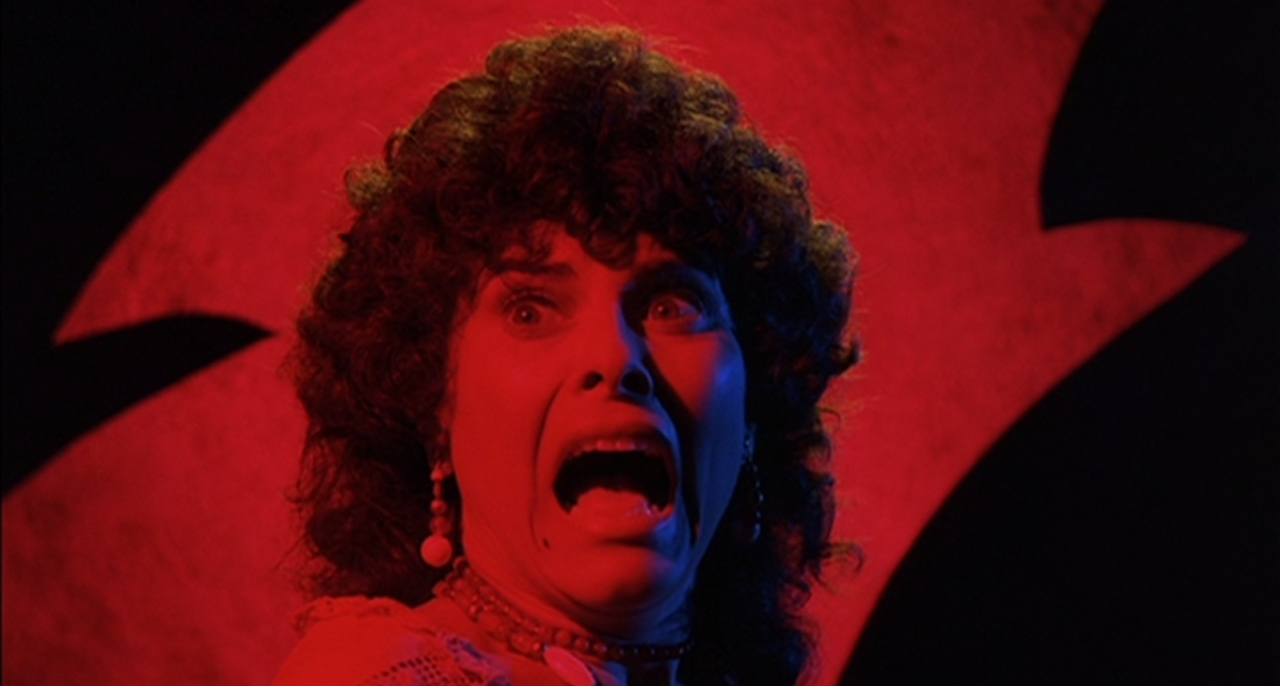 Adrienne Barbeau pursued in The Crate episode in Creepshow (1982)